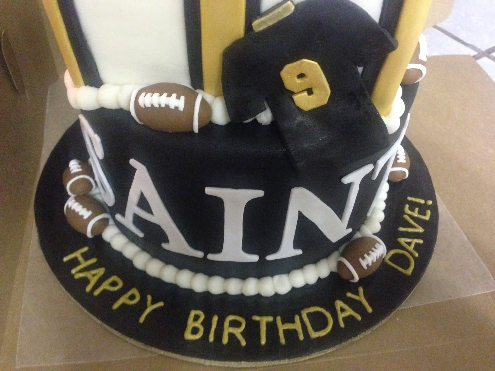 Cakes By Mindy New Orleans Saints Cake 6 8