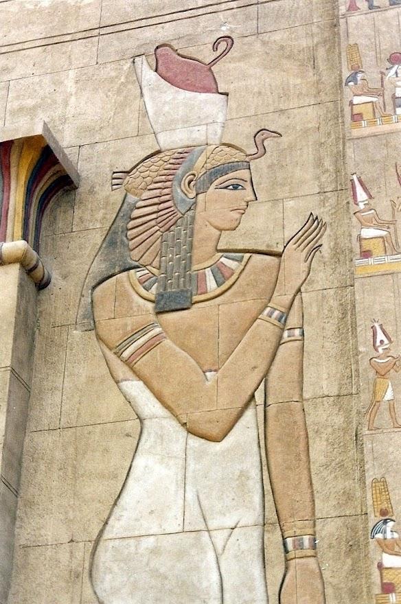 Friso Egipcio. Terra Mitica