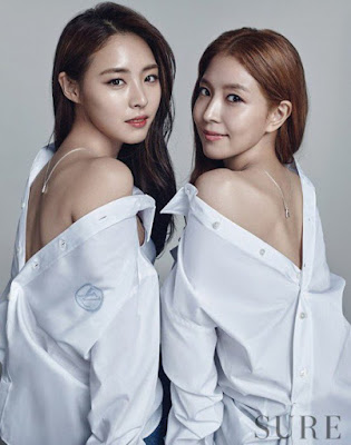 BoA and Lee Yeon Hee Sure Magazine February 2016