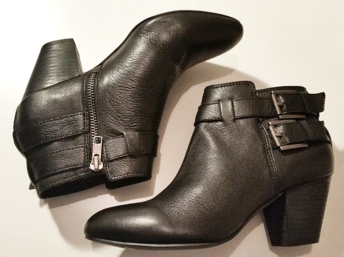 Black ankle boots by Ash