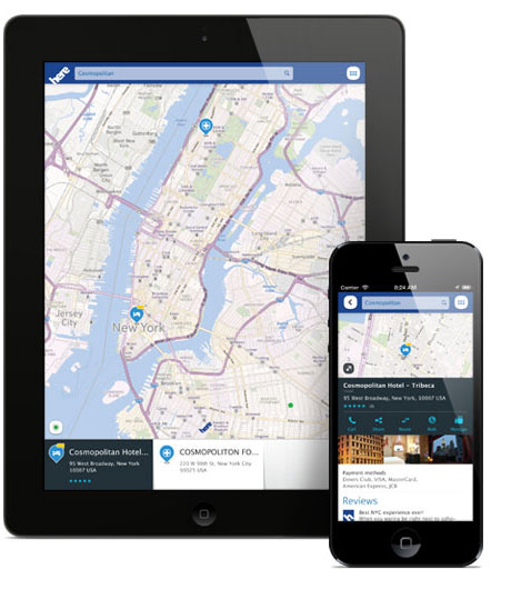 nokia 39 s here maps navigation app now available for ios devices m d b. Black Bedroom Furniture Sets. Home Design Ideas