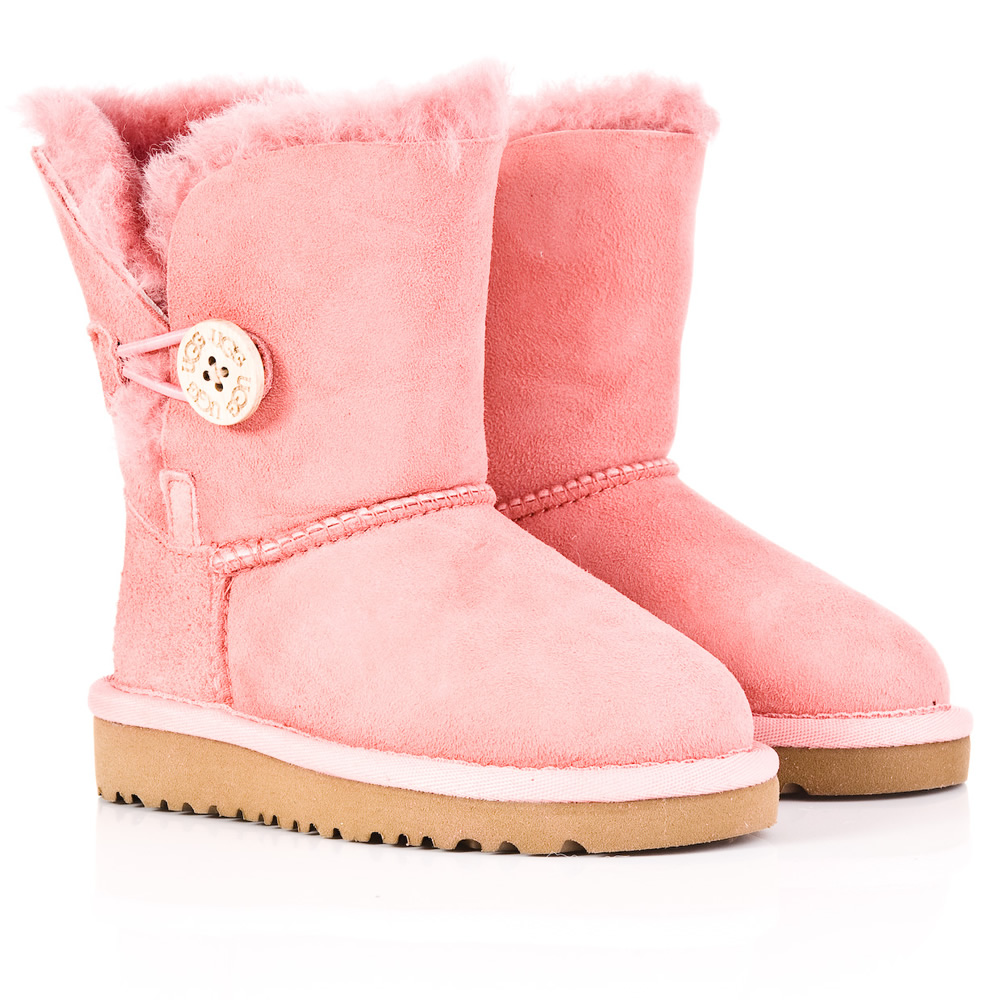 uggs pink bailey button