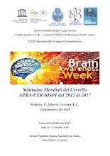 Settimane mondiali del cervello APRA-UER-SISPI dal 2012 al 2017