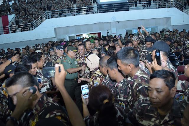 Pengarahan Panglima TNI Dihadapan 3500 Anggota FKPPI