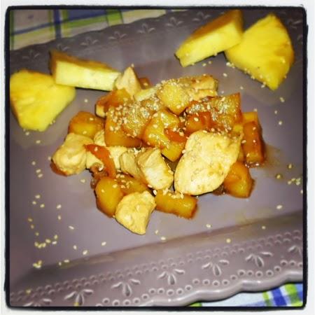 pollo all'ananas