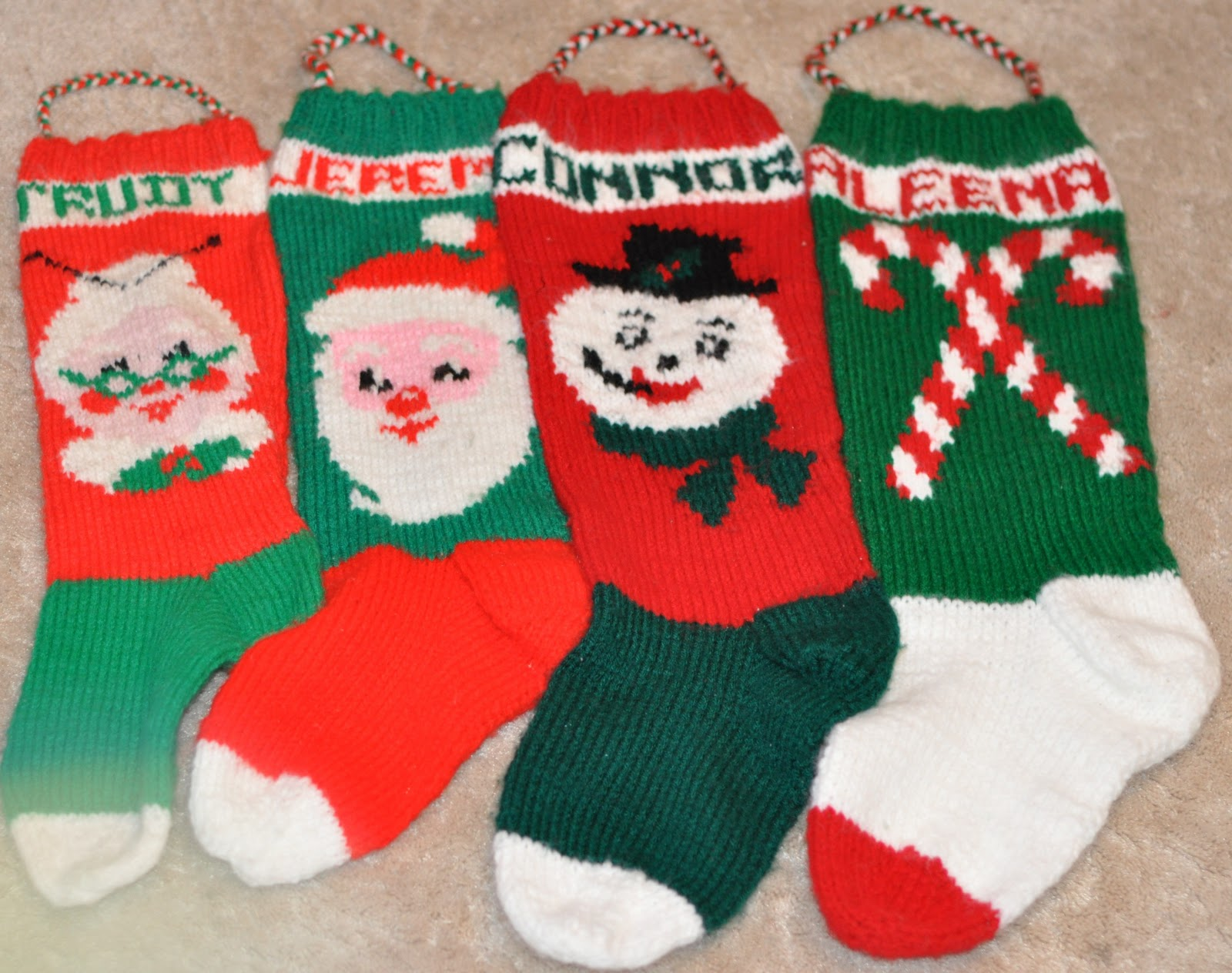 Knitted Christmas Stocking Pattern Books : A Sophisticated Mommy: Another Christmas Stocking Mystery ...