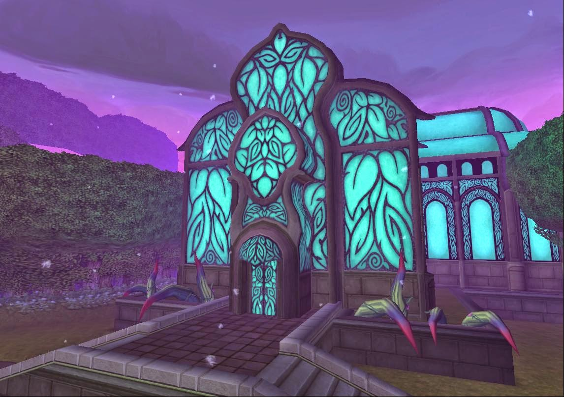 Wizard101 Evergreen Bundle Card House - Botanical Gardens Estate