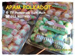 Apam Polkadot ... (inti blueberry, strawberry & coklt)