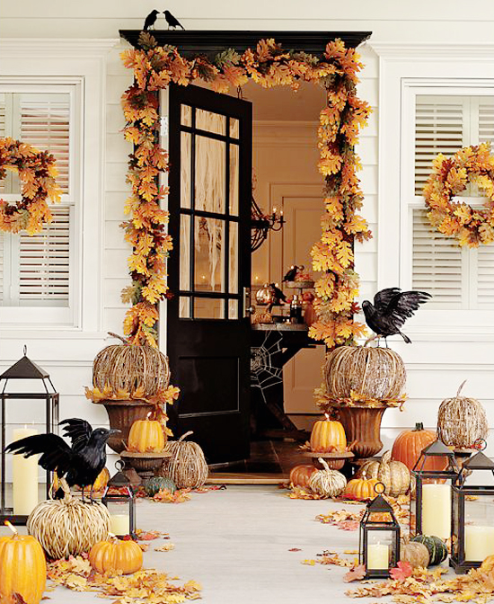 amy 39 s daily dose decorating for fall on a budget. Black Bedroom Furniture Sets. Home Design Ideas