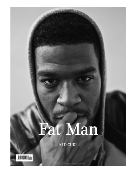 Rapper Kid Cudi by Van Sarki for Fat Man Magazine