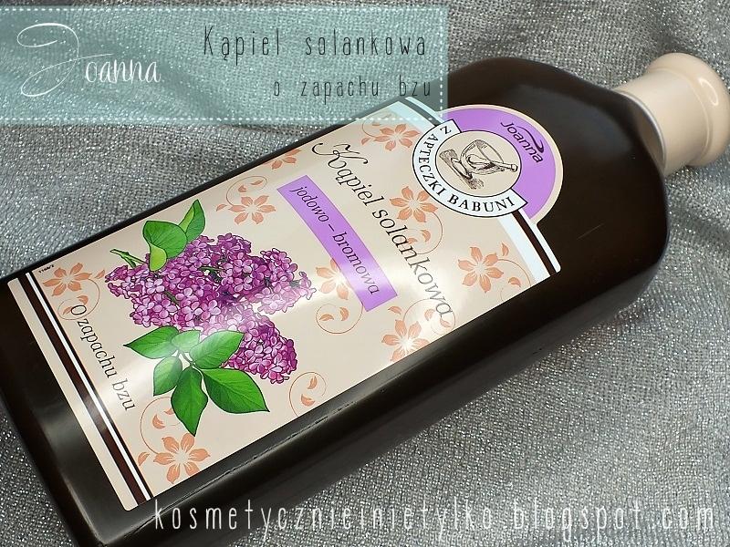joanna kąpiel o zapachu bzów