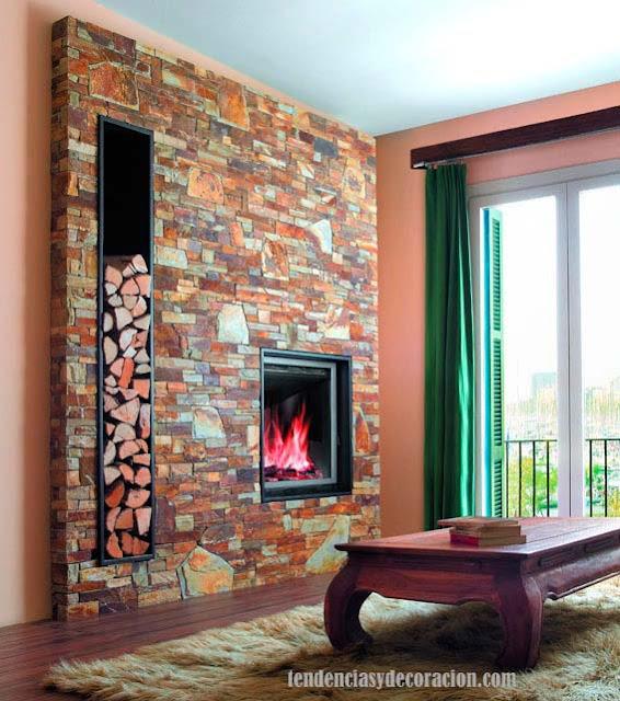 Hogares chimeneas con estilo for Estufa hogar moderna