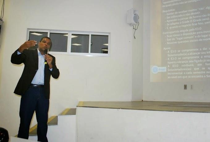 UFRN: Centro de Ensino Superior do Seridó tem aula magna sobre empreendedorismo e inovação