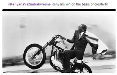 All The Funny Tweets From The Top Trending Hashtag #KenyansVsZimbabweans
