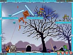 Zombie và cánh cụt, game hanh dong