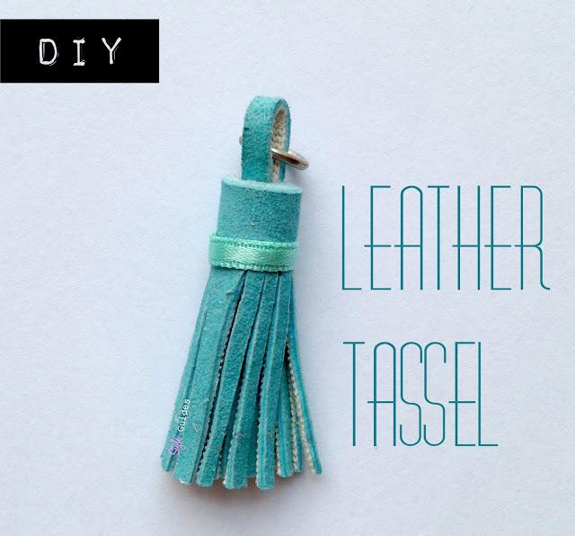 DIY fashion tassel leather