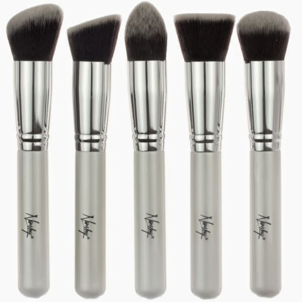 Makeup, Beauty & Fashion Nanshy Brush Set giveaway