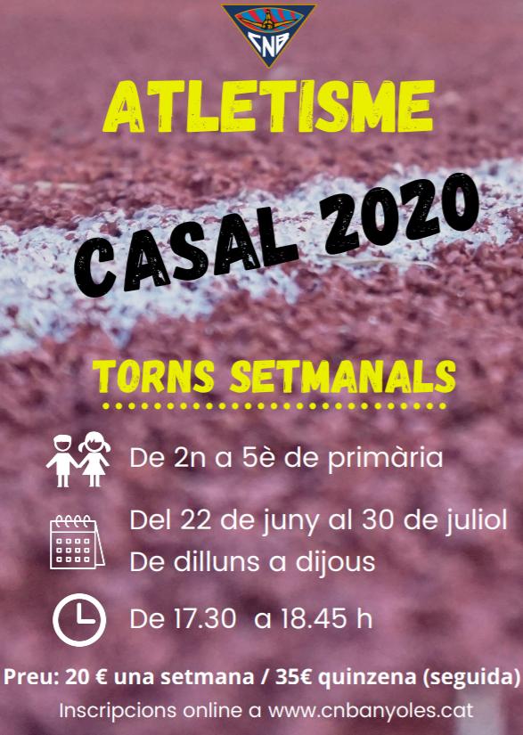 CASAL D'ESTIU 2020