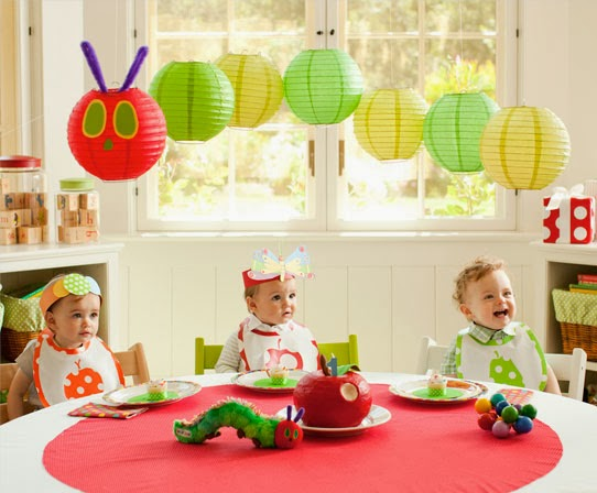 mamasVIB | V. I. BOOKCLUB: Build a classic library for kids (The Very Hungry Caterpillar), pottery barn first birthday ideas | the very hungry caterpillar | party theme