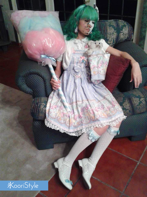 Koori KooriStyle Kawaii Doll Halloween Costume Broken Shattered