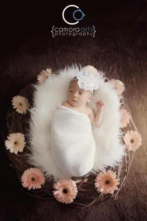 Gambar sekitar sesi fotografi Putri Raysha Jemaima, anak Fasha Sandha