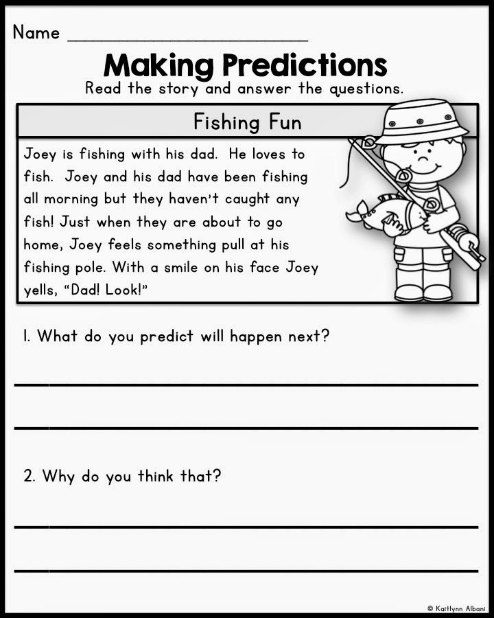 The Best of Teacher Entrepreneurs II Reading Comprehension – Making Predictions Worksheet