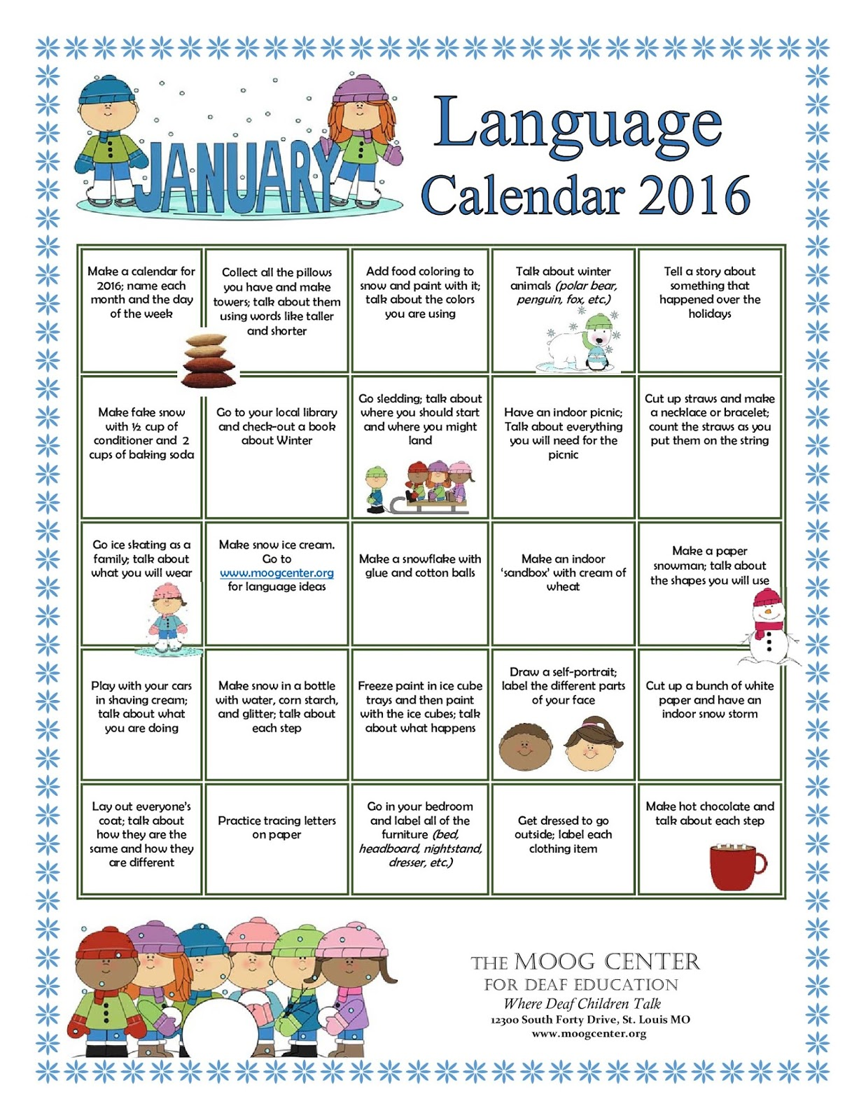 Calendar Q : Hearsaylw january