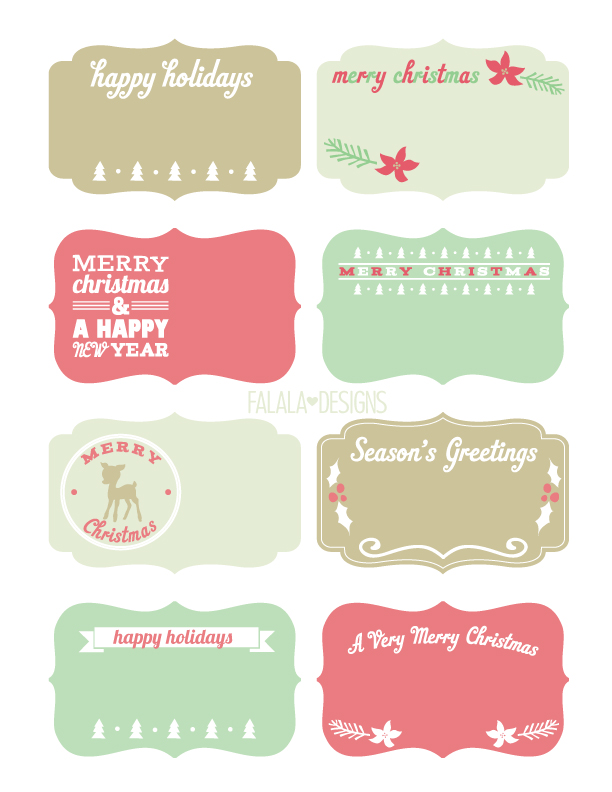 10 Free Christmas Printables - Made To Be A Momma