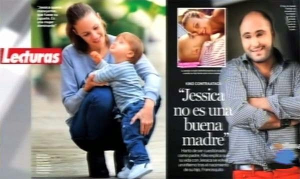 Jessica bueno hijo