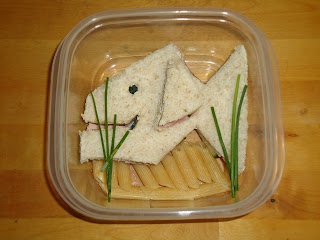 Fish Shaped Sandwich