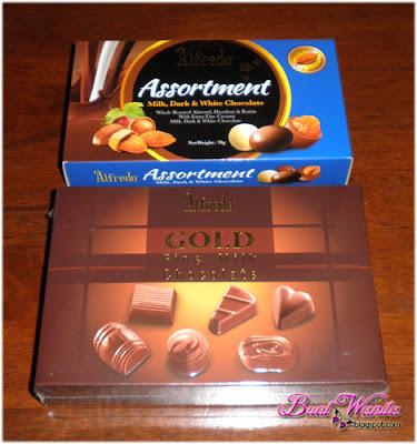 Support Coklat Buatan Malaysia. Coklat Alfredo. Coklat Alfredo Gold. Coklat Alfredo Assortment. Coklat Alfredo Sedap.