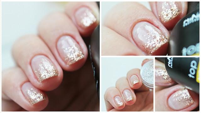 Бесцветный лак для ногтей дизайн