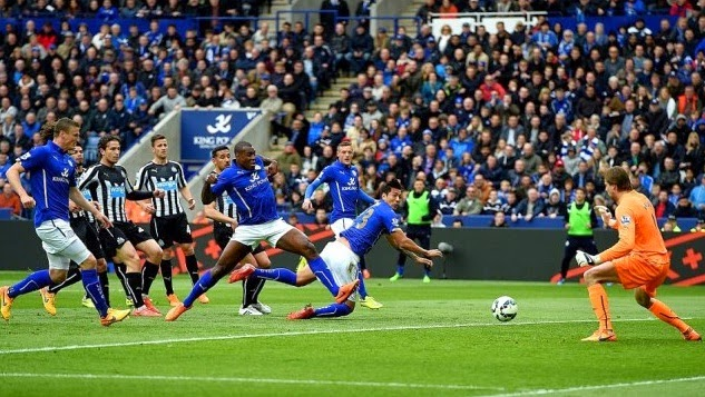 Results : Leicester 2-1 Newcastle Matchday 35