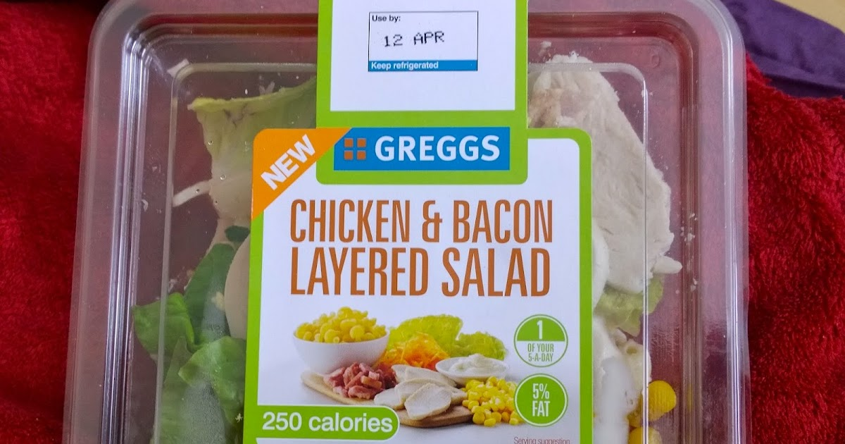 Toto Eats The World Greggs Chicken And Bacon Layered Salad Ham Salad Sub