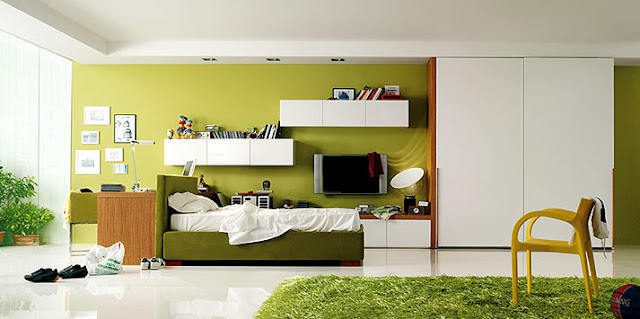 decorating-a-teen-room-with-green-and-yellow-by-clever