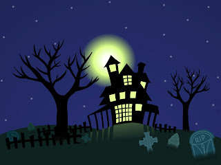 Cemetery In The Night Dark Gothic Wallpaper
