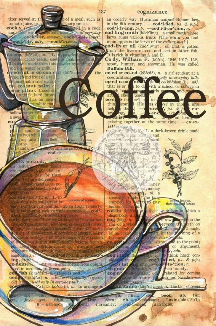 14-Coffee-Kristy-Patterson-Flying-Shoes-Art-Studio-Dictionary-Drawings-www-designstack-co