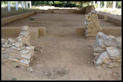 Lefkandi, heroon, santuario, héroes, Eubea, edad oscura, protogeométrico, dark age, Antigua Grecia, Egeo
