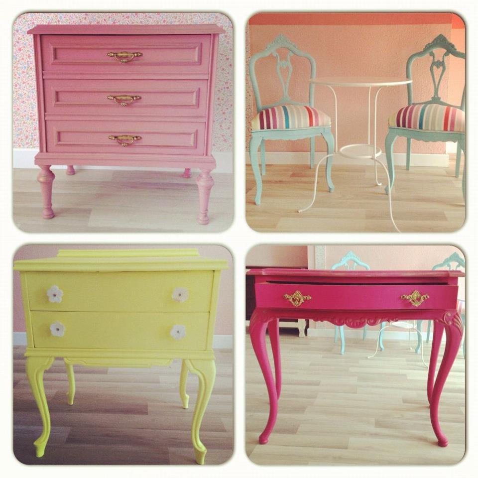 Artesare abril 2013 - Muebles antiguos pintados de blanco ...