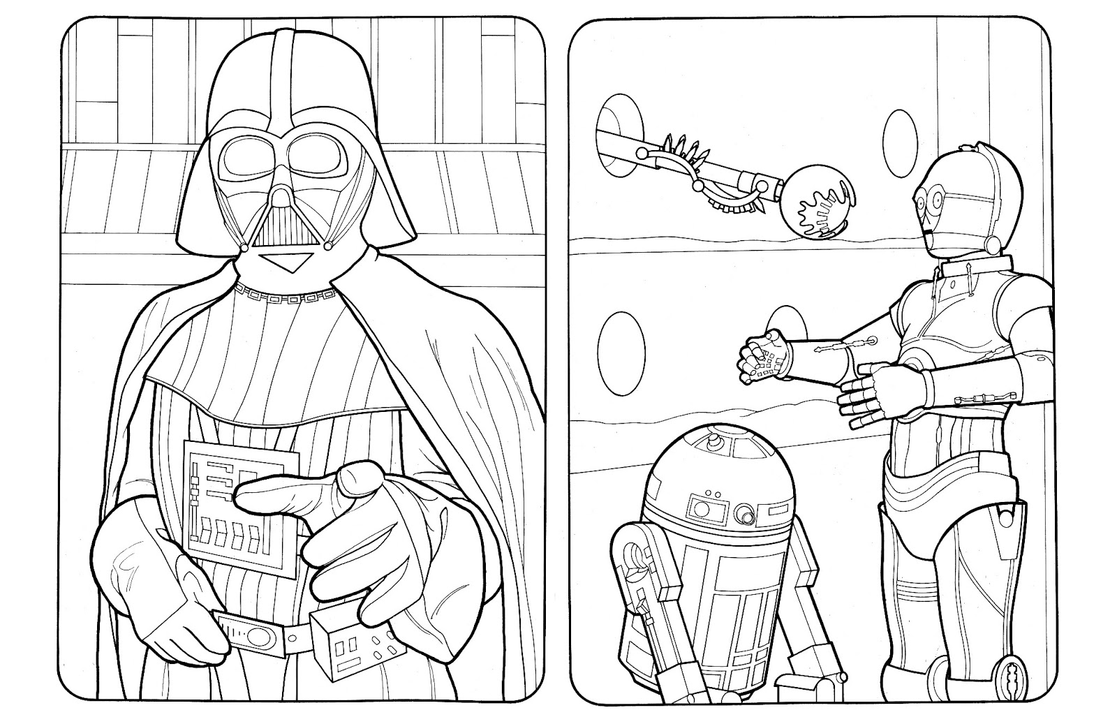 Beerandrobots 2013 Jedi Coloring Pages