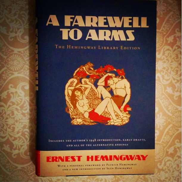 an overview of the typical love story in the novel a farewell to arms by ernest hemingway Written when ernest hemingway was thirty years old and lauded as the best american novel to emerge from world war i, a farewell to arms is the unforgettable story of an american ambulance.