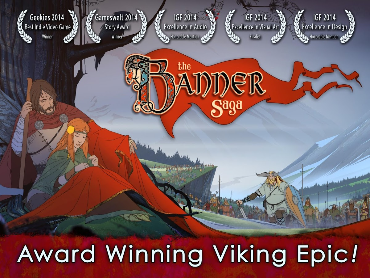 the banner saga apk paid offline data download android