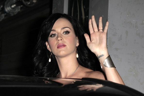 Katy Perry Tattoo On Wrist