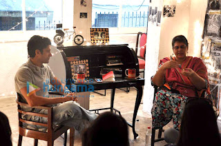 Farhan Khan in conversation with Indu Mirani at 'The Boss Dialogues'