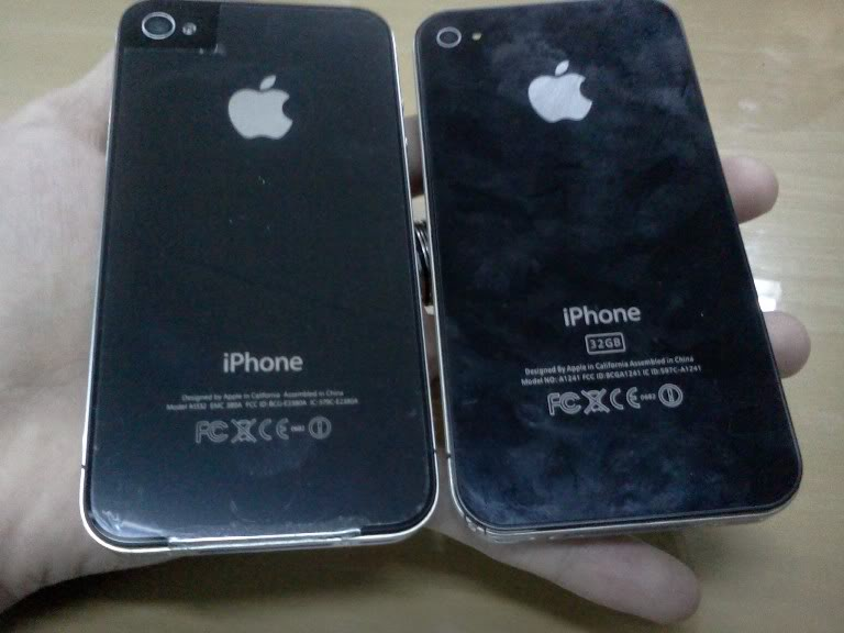 Cara Memberdakan Iphone 4 Palsu [replika]