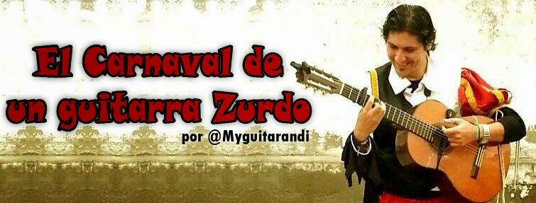 Carnaval de un guitarra Zurdo