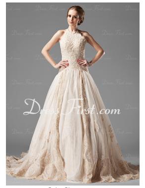 elegant inexpensive wedding dress