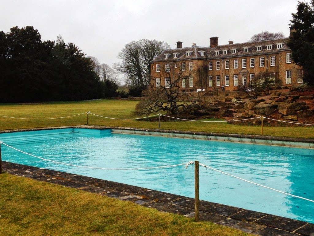 Upton House swimming pool