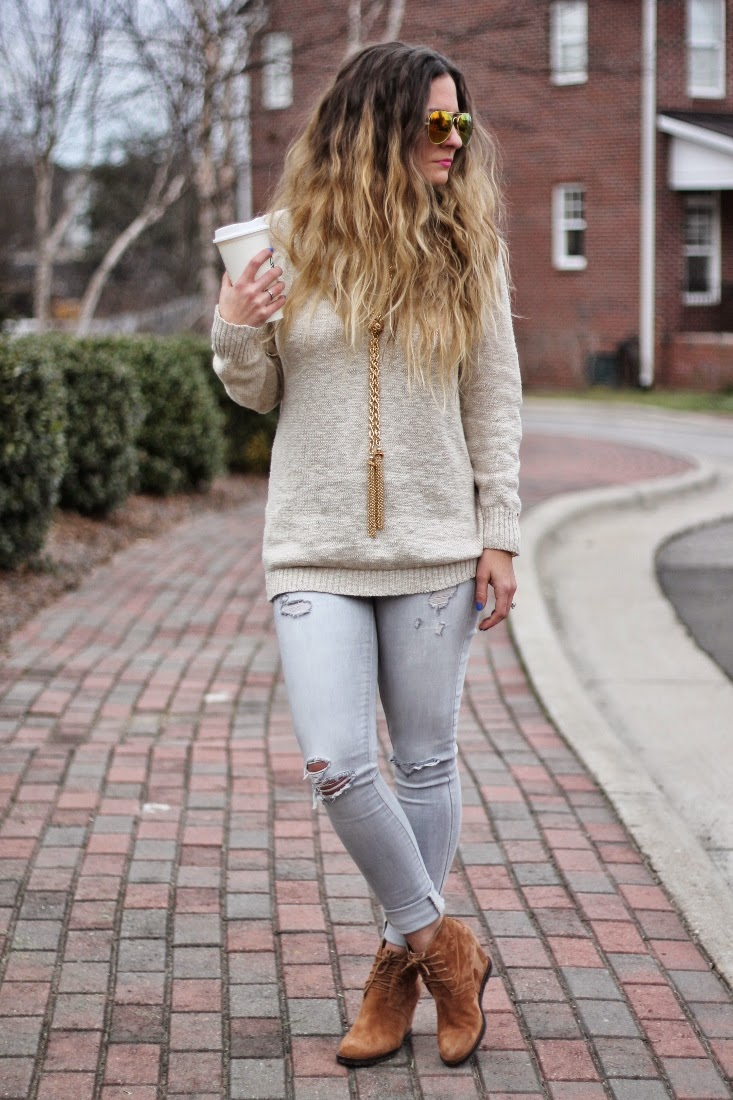Winter Outfit with Boots