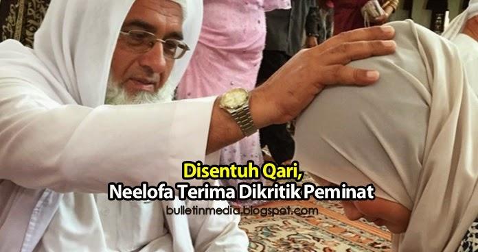 Disentuh Maulana Qari Faiz Uddin Hazarvi, Neelofa Terima Dikritik Peminat